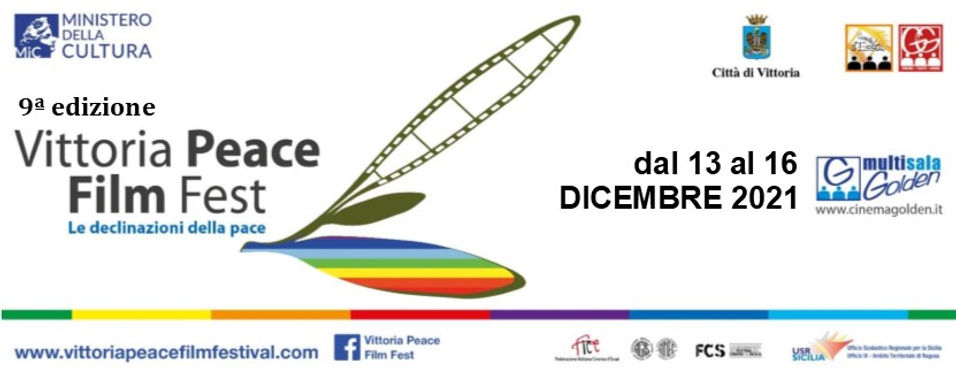Logo Nona edizione Vittoria Peace Film F