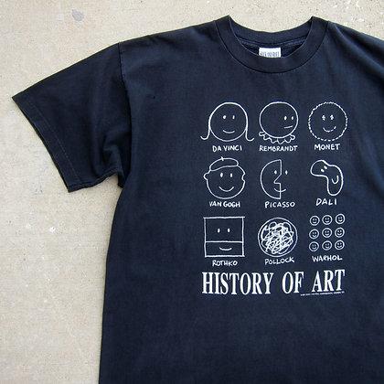 '91 History Of Art Tee - XL
