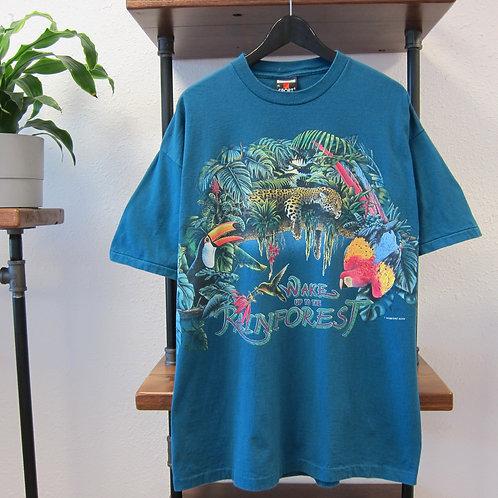 90s Rainforest Double Sided Tee - XL