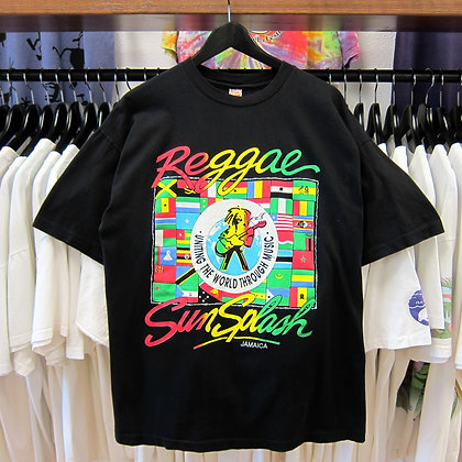 90s Reggae SunSplash Tee - L