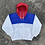 Thumbnail: 90s Polo Sport Tri-Color Sailing Jacket -  L