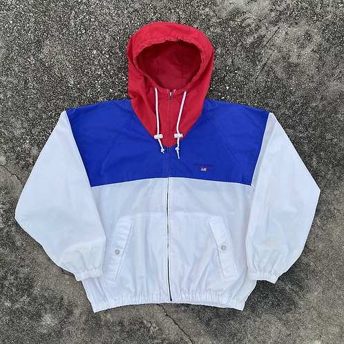 90s Polo Sport Tri-Color Sailing Jacket -  L
