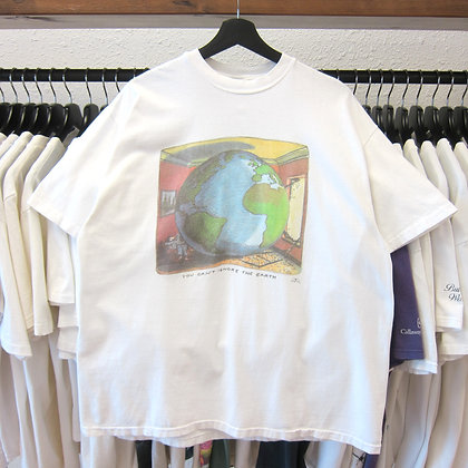 90's Can't Ignore The Earth Art Tee - XL