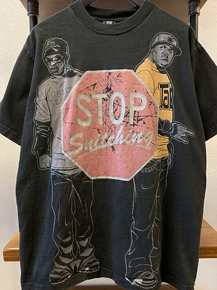 2000s Stop Snitching Tee - L