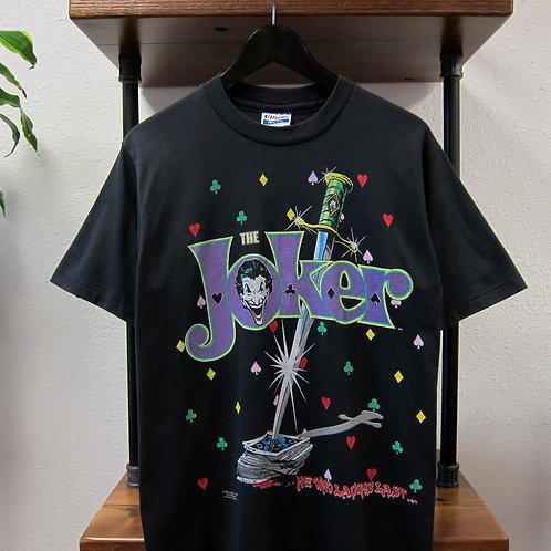 1989 Joker Black 50/50 Tee - M