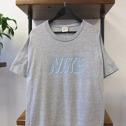 80s Nike Heather Grey Tee - XL
