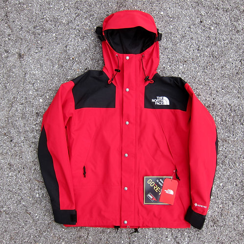 Retro '90 The North Face Red Goretex Mountain Jacket - M