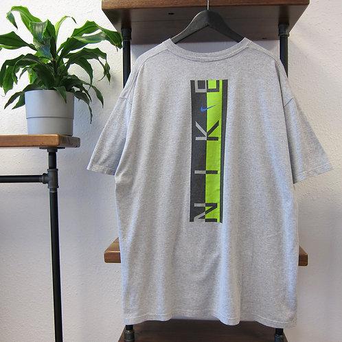 90s Nike Heather Grey 2 Sided Tee - XL/XXL