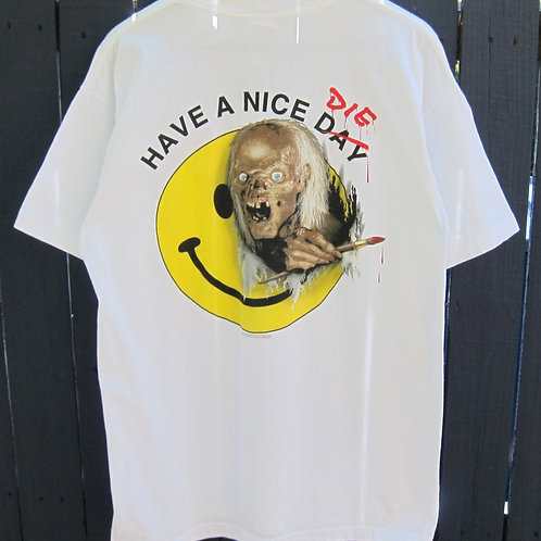 90s Tales From The Crypt Have A Nice DIE Tee - L