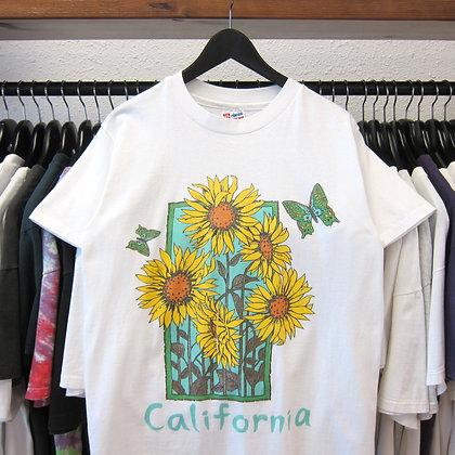 90's California Sunflower Tee - M