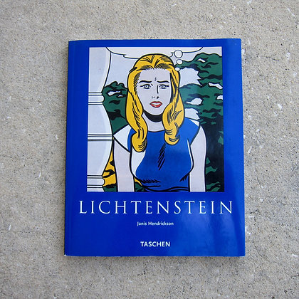 Roy Lichtenstein Book
