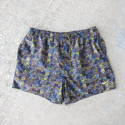 90s Nike Printed Water Shorts - XXL