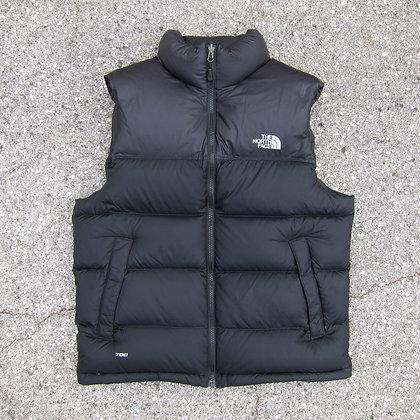 The North Face Black 700 Fill Nuptse Vest - M