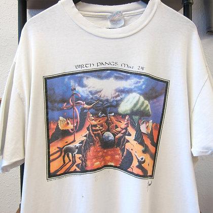 "*Worn* '93 Vincent Monaco ""Dali style"" Tee - XL"