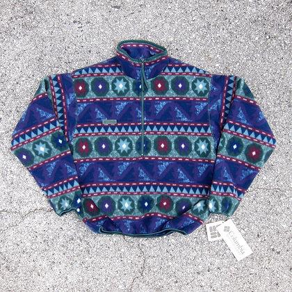 90s Columbia Sportswear Printed Fleece Pullover - S