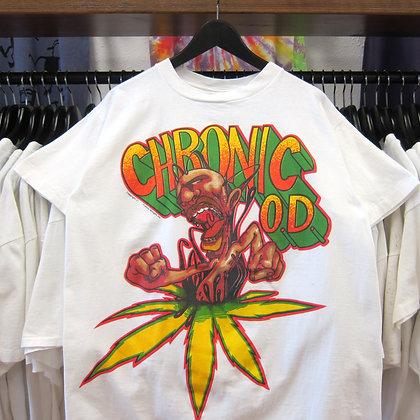 90's Chronic OD Weed Tee - L