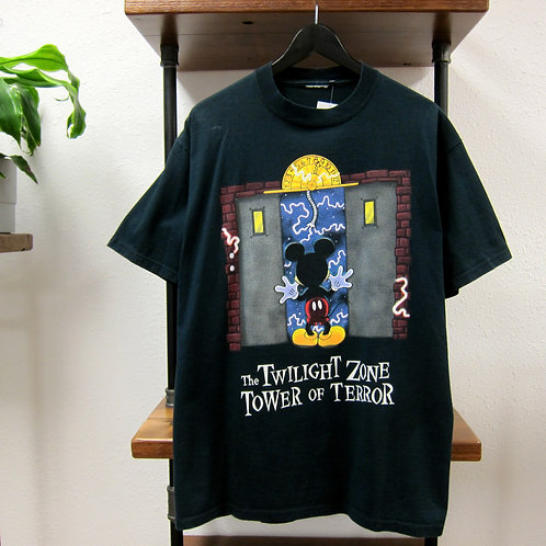 90s Disney Tower of Terror Tee - L