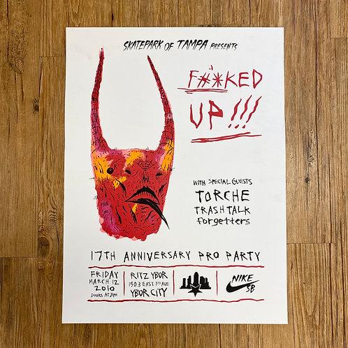 2010 Nike Sb x NeckFace Promo Poster