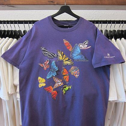 90's Butterfly Wrap Around Tee - XL