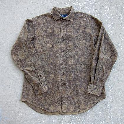 90s Polo RL Paisley Print Shirt - L