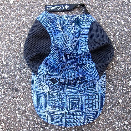 90s Columbia Printed Nylon & Mesh Water Hat