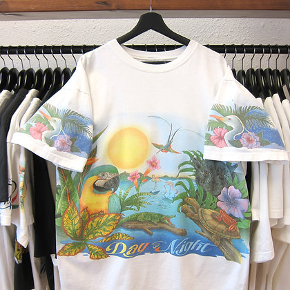 '91 Caribbean Soul Day And Night In The Tropics Tee - XL