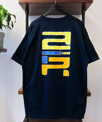 90s Nike Air Navy Graphic Tee - XL