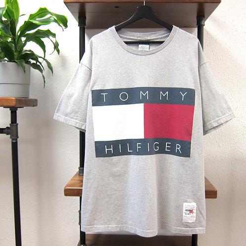 90s Tommy Hilfiger Big Graphic Tee - XL