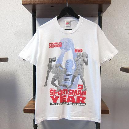 90s Nike Air Jordan Sportsman of the Year Tee - M/L