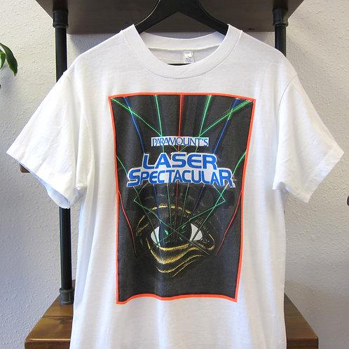 80s Paramount's Laser Spectacular Tee - M/L
