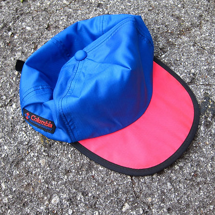 80s Columbia Sportswear Neon Tech Hat