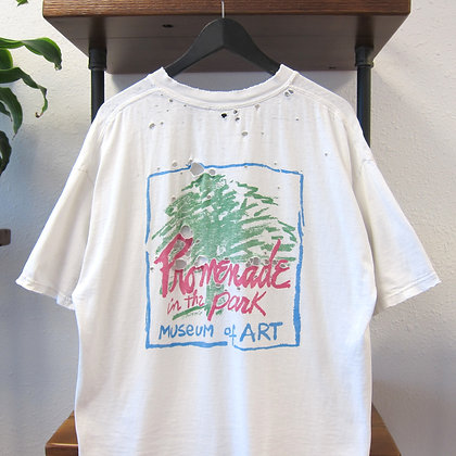 """""""Thrashed* 90s Art in the Park Tee - XL"""