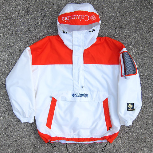 90s Columbia Sportswear Pullover Tech Jacket - L
