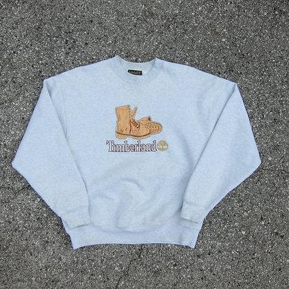 90s Timberland Ash Grey Crewneck - L