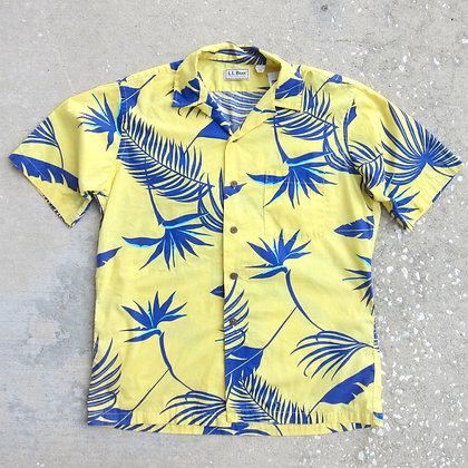 90s L.L. Bean Floral Shirt - M