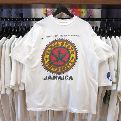 90s Ganja State University Jamaica Tee - L/XL