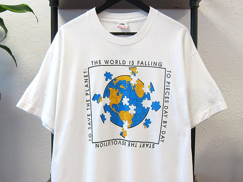 90s The World Is Falling to Pieces Tee - XL
