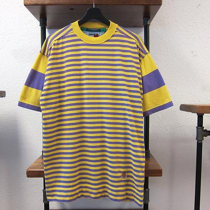 90s Tommy Hilfiger Striped Tee - L