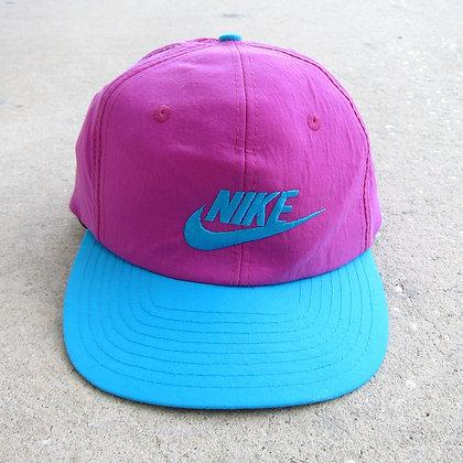 Early 90s Nike Cotton Candy Nylon Snapback
