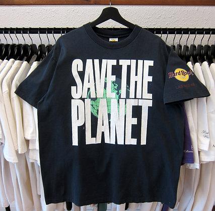 90's Save The Planet Hard Rock Las Vegas Tee - XL
