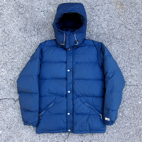80s The North Face Brown Label Down Filled Bubble Jacket - M