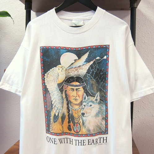 '92 One with the Earth Human-i-Tees Tee - XL