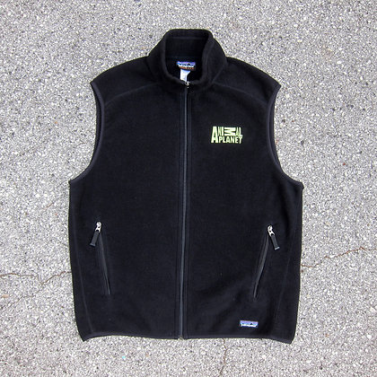 90s Patagonia Fleece Animal Planet Promo Vest - L
