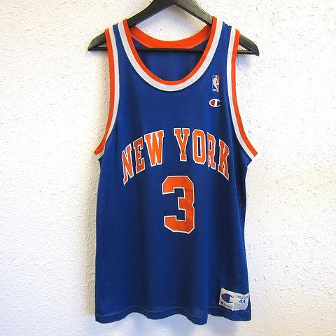online retailer 652fe e888c 90s John Starks New York Knicks Champion Jersey - 44