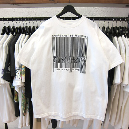 90's Zebra Nature Can't Be Restocked Tee - XL