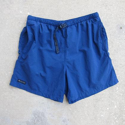 90s Columbia Sportswear Belted Nylon Water Shorts - M/L