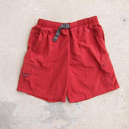 Columbia Sportswear Brick Belted Nylon Shorts - L