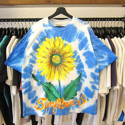 90's Tie-Dye Sunflower Tee - XL
