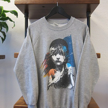 90's Les Miserables Crewneck - L