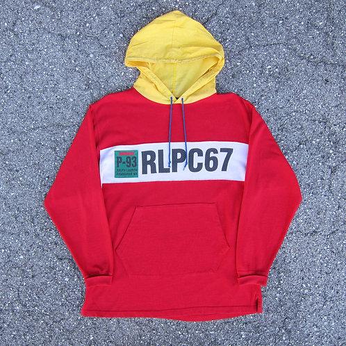 1993 Polo Ralph Lauren Hooded Long Sleeve Shirt - M/L